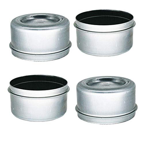 M-Parts 2.72  Dust Caps Grease Covers for 7,000 8,000 (7K 8K) Trailer Axle Wheel Hubs (4 Included) - DC275