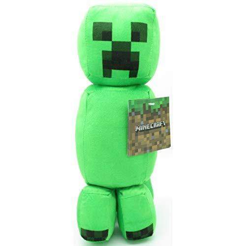 - peluche - Creeper Cactus Personaje del Famoso Videojuego - Verde - 30m