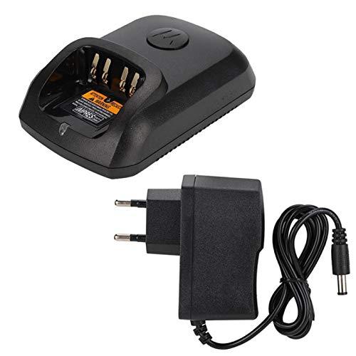 Cargador Walkie Talkie 100-240Venchufe de la UE para Motorola XIR P8268 DP4400 DP4800 DP4801 DEP550 con indicador de Carga La Carga es más Conveniente