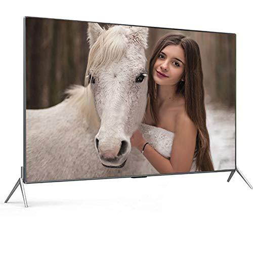 LCD HDR 4K Televisores Smart TV, 2160P Televisión de película templada a Prueba de explosiones VGA Incorporado USB AV HDMI RF Conector de Auriculares Smart Android TV