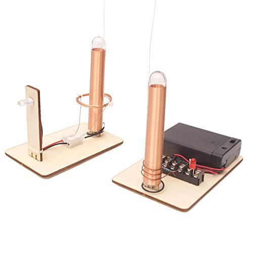DIY Basteln Wissenschaft Labor Physik Experiment Spielzeug Geschenk - Wireless Strom Generator Lampe