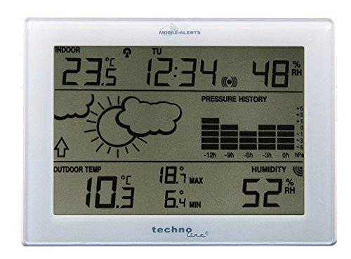 Technoline MA 10410 Wetterstation mit Anbindung zum MOBILE ALERTS Haus-Überwachungs-System
