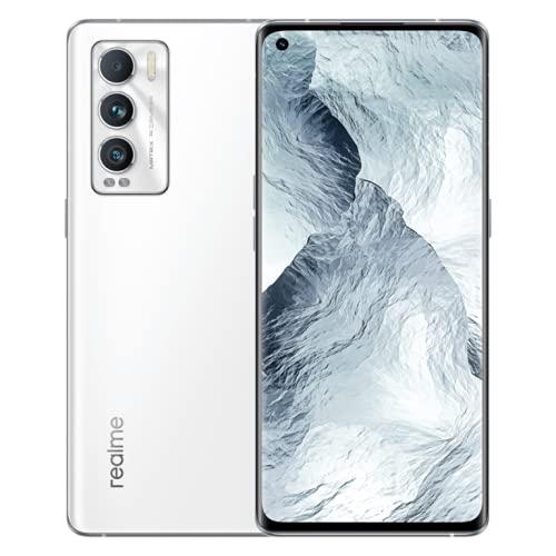 realme GT Master Edition Smartphone Libre, Qualcomm Snapdragon 778G 5G, Pantalla completa AMOLED Samsung de 120 Hz, Carga SuperDart de 65W, Cámara principal de 64MP, NFC, 8+256GB, Luna blanco