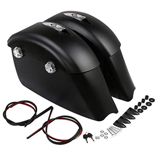 Why Should You Buy Matte Black Saddlebag Audio Lid Electronic Latch For Indian Chieftain Classic Roa...