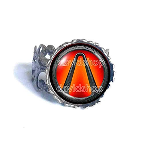 Handmade Fashion Jewelry Symbol Borderlands Vault Ring Cosplay