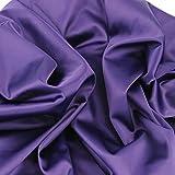 Stretch-Satin-Stoff, violett, für Hochzeitskleid,