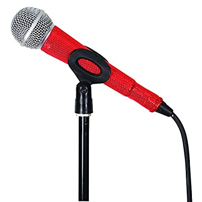 MicFX SF075 Laser Cut Corded Microphone Sleeve - Red