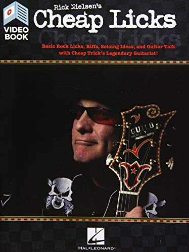 Price comparison product image Rick Nielsen's Cheap Licks: Basic Rock Licks,  Riffs,  Soloing Ideas,  and Guitar Talk with Cheap Trick's Legendary Guitarist!