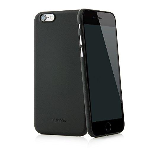 """QUADOCTA Funda Ultrafina Solid Black """"Angusta"""" para el iPhone 6s y iPhone 6 de Apple de 4,7 Pulgadas. Funda Protectora Extra Fina iPhone 6/6s Original de Apple"""