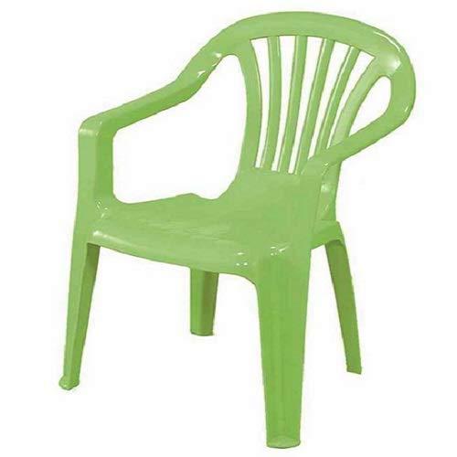 Progarden Stuhl Kindermonoblock Sedia, Baby, grün