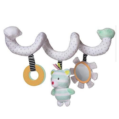 Ours en Spirale à Activité Douce en Peluche Playtime de Manhattan Toy