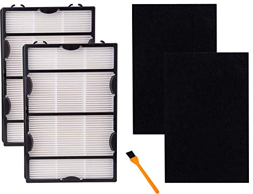 Hongfa Filters B and Carbon Filters for Holmes HAPF600 Air Purifier,True Hepa Air Filter Compatible...