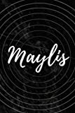 Maylis: Personalized Sketchbook with Name Maylis | Blank Writing Drawing Notebook