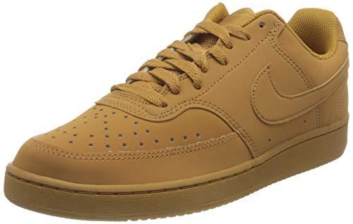 Nike Court Vision LO, Zapatillas de básquetbol Hombre, Flax/Flax/Wheat/Twine, 47 EU