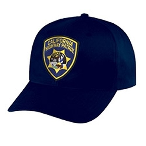 CHP Cap - California Highway Patrol Cap/CHP Hat - Navy Blue, Adjustable - Police Patch, Jail, Prison, Corrections - Sold by UNIFORM WORLD