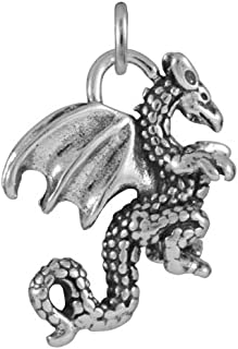 Best silver welsh dragon charm Reviews