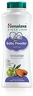 Himalaya Baby Powder | No Parabens, Phthalates & Synthetic Colors a Soft and Gentle Powder That Refreshes & Keeps the Ski...