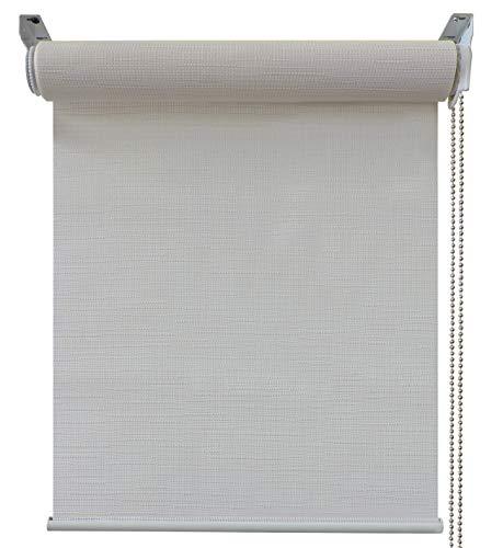 Gemakkelijk rolgordijn, wit, 45x250