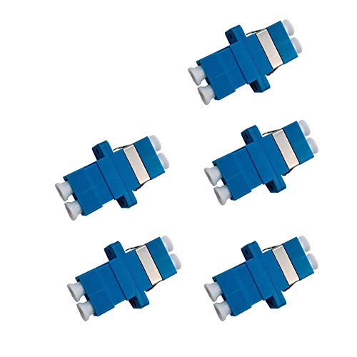 LC to LC Female to Female Couplers,SINCODA 5 Pack LC to LC Duplex...