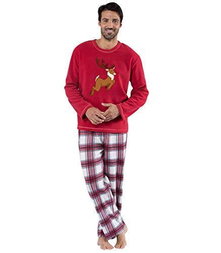 Pijamas Navidad Familia Conjunto Pijama Cuadros Navideñas