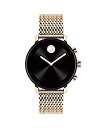 top 10 movado pink face Stainless steel and ion coating for Movado Connect 2.0 Unisex and Google Wear OS …