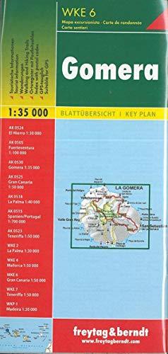 Gomera, Wanderkarte 1:35.000 (freytag & berndt Wander-Rad-Freizeitkarten)
