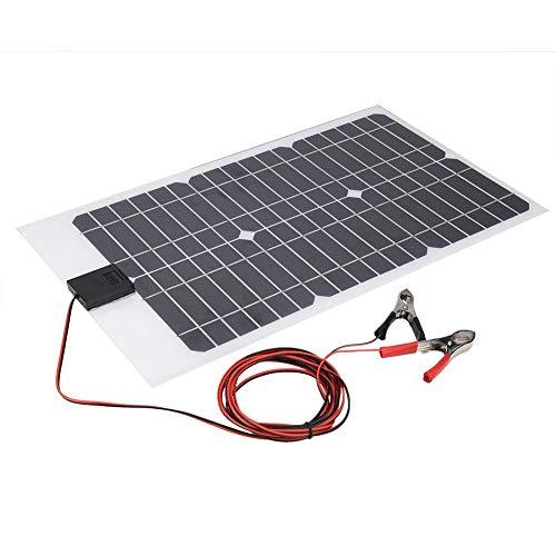 20W polykristallijn zonnepaneel, 18V chip 470 * 280mm waterdichte zonnepaneel buitenbatterijlader voor auto-batterijen, schepen, vliegtuigen, buitenlandbouw, planten, toerisme, zonnewegen