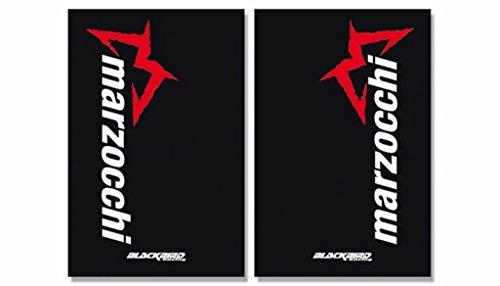 BLACKBIRD RACING - 38956 : Adhesivos Crystal Horquilla Negro Marzocchi 2 Pcs 5015M