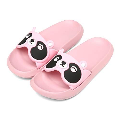 ChayChax Zapatos de Playa y Piscina para Niñas Niños Ligero Zapatillas de Baño Suave Bañarse Chanclas de Casa Verano AntideslizanteSandalias