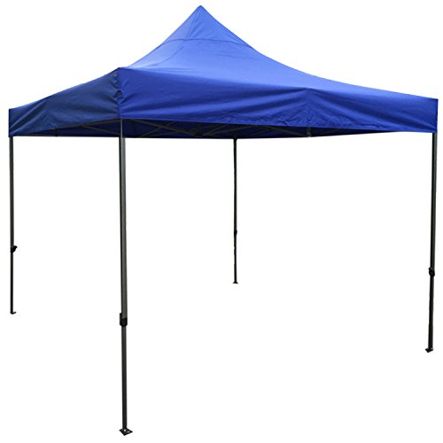 AAA Best K-Strong Outdoor Pop Up Canopy Tent 10' x 10', Portable Instant Canopy Shelter (Dark Blue)