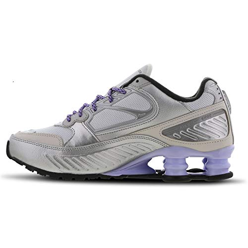 Nike Femmes Shox Enigma Running Trainers CT3450 Sneakers Chaussures (UK 6 US 8.5 EU 40, Metallic Silver Cool Grey 001)