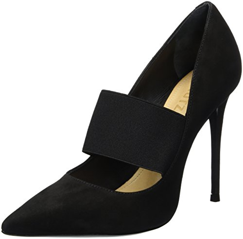 Schutz Damen Stilleto Pumps, Schwarz (Black), 40 EU