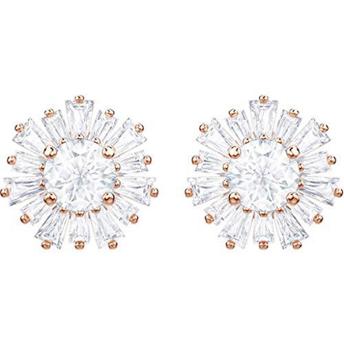 Swarovski Sunshine 5459597 - Pendientes de oro rosa