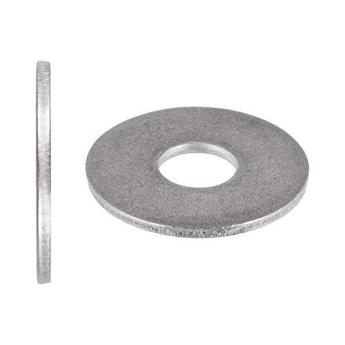 Arandelas M6 (diámetro exterior grande) DIN 9021 ISO 7093 Arandelas para carrocería A2 V2A acero inoxidable M6 10 unidades