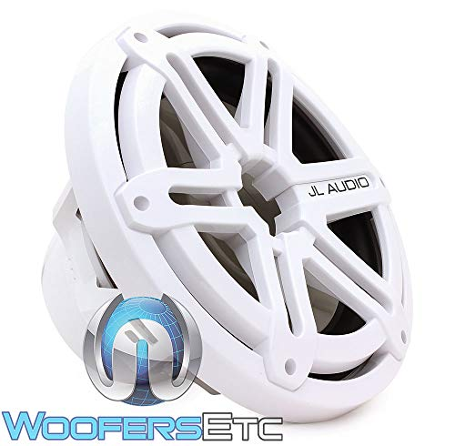 """MX10IB3-SG-WH - JL Audio 10"""" 175W RMS MX Series Infinite Baffle Marine Subwoofer Driver with White Sports Grille"""