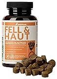 Schnüffelfreunde Fell & Haut I Complemento Alimenticio para Perros para Ayudar al Pelaje y la Piel - Beneficioso para el Pelo y Pelaje Brillante del Perro - con Aceite de Coco y Levadura de Cerveza