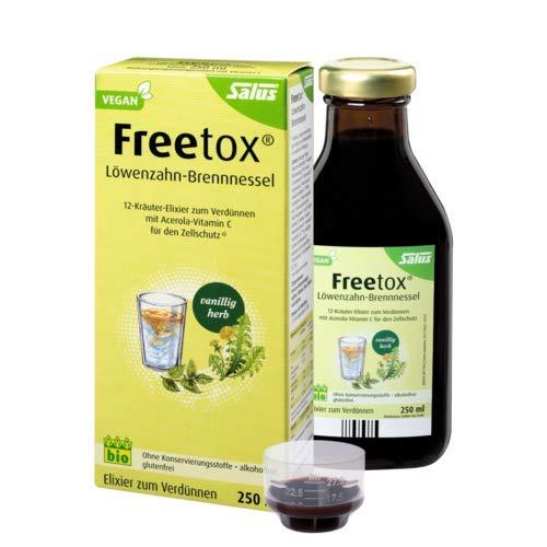 Salus Detox Elixier 1 Pack 250ml; ACHTUNG: Detox heißt jetzt Freetox