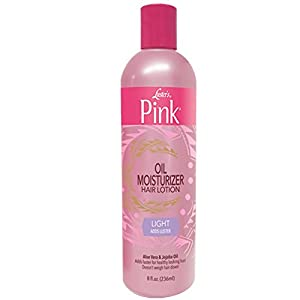 Beauty Shopping Luster's Pink Classic Light Oil Moisturizer Hair Lotion, 12 Ounce