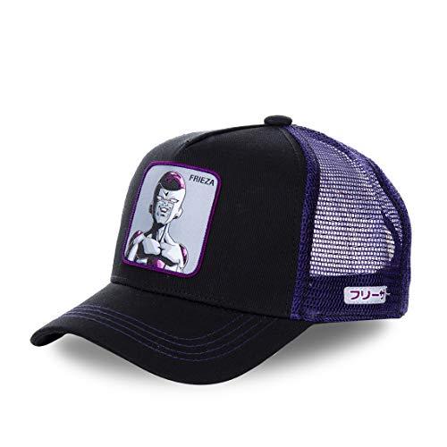 Capslab Frieza Trucker Cap Dragon Ball Z Black/Purple - One-Size