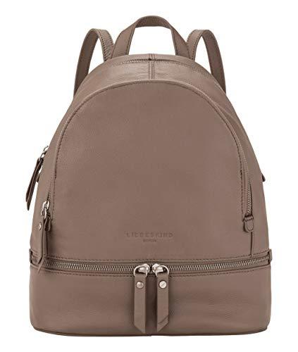 Liebeskind Berlin Damen Alita Backpack Rucksackhandtasche, Grau (Cold Grey), Medium