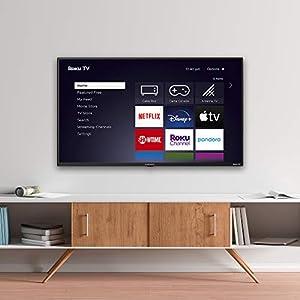 "Element Electronics E4AA43R-G 43"" 4K Roku UHD LED TV"