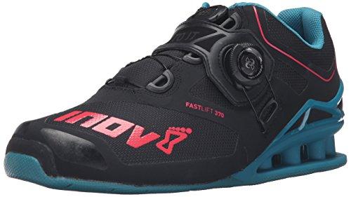 Inov-8 Men's FastLift 370 BOA Cross-Training Shoe,Black,4.5 US