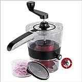 Vegetable Slicer Slicer Spiral Cooking Utensils, Manual Grater, Slicer, Cutter, Rotary Cutting Machine