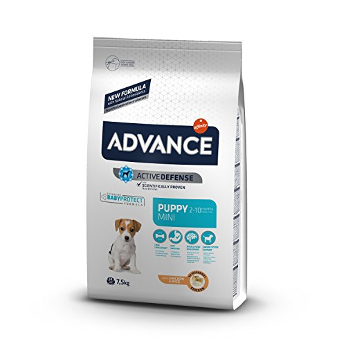 ADVANCE Mini Puppy Hundefutter, 1er Pack (1 x 7.5 kg)