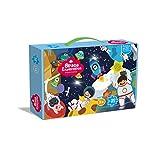 KING JUGUETES Puzzle Espacial Extraterrestres Nave Espacial Astronautas, Puzzle Infantil 180 Piezas, Juego Educativo y Creativo, Rompecabezas para niños y niñas a Partir de 3 años