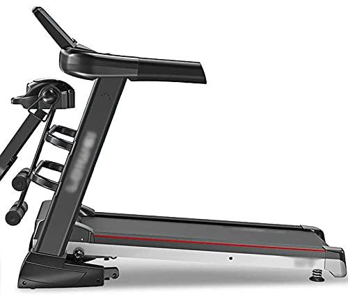 Yxxc Tapis roulant Spin Bike, Tapis roulant Pieghevole ad Alta velocità, Macchina da Corsa motorizzata elettrica, Motore a Risparmio energetico Muto da 2,5 CV, 12 sistemi Sportivi, capacità di ca