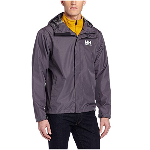 Helly-Hansen Men's Seven J Waterproof Windproof Breathable Rain Coat Jacket