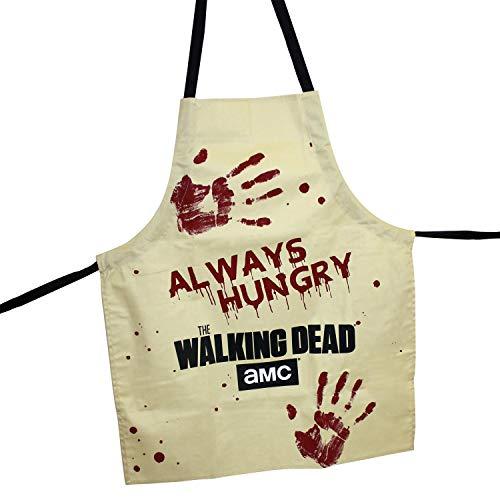 Close Up The Walking Dead Schürze/Grillschürze/Kochschürze - Always Hungry - Unisex - Einheitsgröße