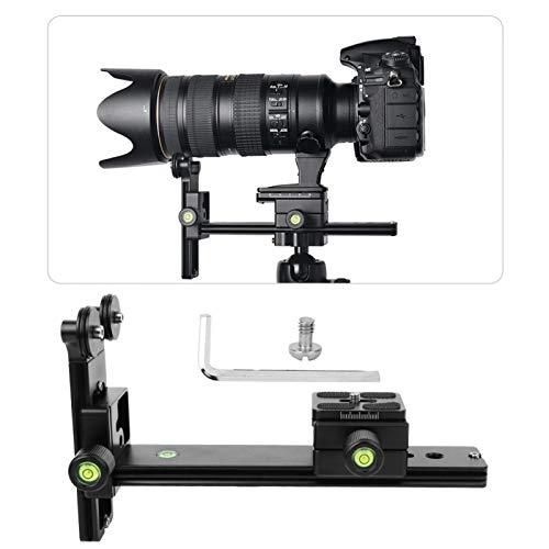 Surebuy Soporte de Lente Soporte de Lente 625 g Diseñado para Lentes de Distancia Focal Media y Larga Soporte de cámara Lente telefoto para cámara
