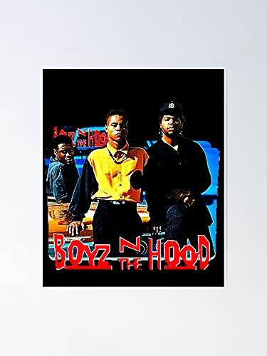 Situen Boyz and The Hood Poster - for Office Decor, Dorm, Classroom, Gymnast and LGBT Besties, Holiday, Great Inspirational Wall Art